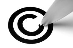 Free Copyright Sign Stock Image - 9801251
