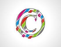 Copyright stamp Stock Image