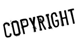 Copyright stamp rubber grunge Royalty Free Stock Images