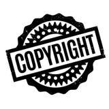 COPYRIGHT-Stempel Stockfotografie