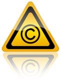 Copyright symbol Royalty Free Stock Image