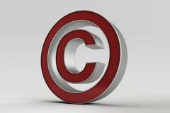 Copyright symbol Royalty Free Stock Photography
