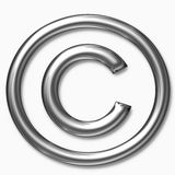Copyright symbol Royalty Free Stock Images