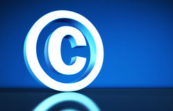 Copyright Symbol Concept Royalty Free Stock Image