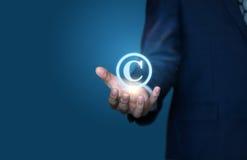 Copyright-Symbol von Lizenzfreie Stockfotos
