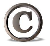 Copyright-symbool Royalty-vrije Stock Afbeelding