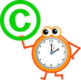 Copyright time Stock Photography