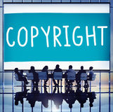 Copyright Trademark Identity Owner Legal Concept Stock Image