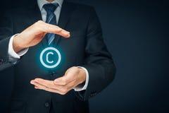 Copyright und geistiges Eigentum Lizenzfreies Stockfoto