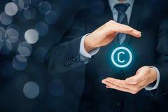 Copyright und geistiges Eigentum Lizenzfreie Stockfotos