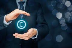 Copyright und geistiges Eigentum Stockbild