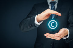 Copyright und geistiges Eigentum Lizenzfreie Stockfotografie