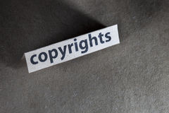 Copyrights Royalty Free Stock Images