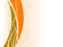 copyspace πορτοκαλιά τετράγωνα Στοκ Εικόνα