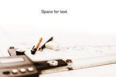 copyspace σχέδιο τεχνικό Στοκ φωτογραφίες με δικαίωμα ελεύθερης χρήσης