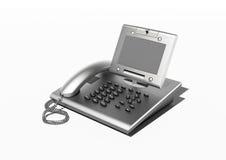 copyspace τηλέφωνο γραφείων μοντέρ& Στοκ εικόνες με δικαίωμα ελεύθερης χρήσης