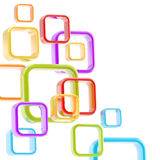 copyspace абстрактной предпосылки цветастое Стоковые Фотографии RF