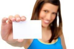 copyspace визитной карточки Стоковая Фотография