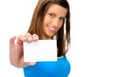 copyspace визитной карточки Стоковые Изображения