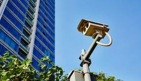 照相机copyspace大量证券 免版税图库摄影