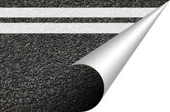 copyspace asfaltowa tekstura Fotografia Royalty Free