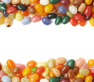 Copyspace background with candy borders Stock Images