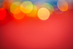 Copyspace background multicolored bokeh Royalty Free Stock Image