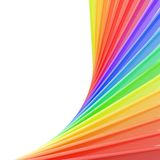 Copyspace background of rainbow colored composition Royalty Free Stock Photo