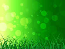 Copyspace Background Represents Green Grass And Backgrounds Stock Photography
