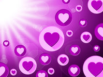 Copyspace Background Represents Valentine Day And Affection Royalty Free Stock Photo