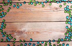 Copyspace background with wooden pattern Royalty Free Stock Images