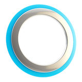 Copyspace circular frame isolated Stock Image