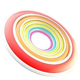Copyspace circular round frame background Stock Photo