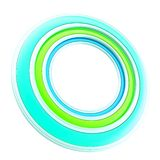 Copyspace circular round frame background Royalty Free Stock Photos