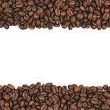 Copyspace coffee composition Royalty Free Stock Image