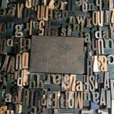 Copyspace del marco de la impresión Imágenes de archivo libres de regalías