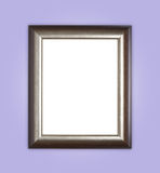 Copyspace empty wooden picture frame composition Stock Photography