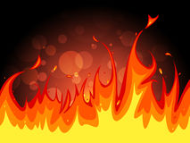 Copyspace Fire Indicates Flame Blaze And Fiery. Background Fire Meaning Empty Space And Blaze Stock Photos