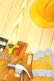 Copyspace image of construction tools Stock Photography