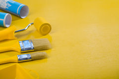 Copyspace image of painting tools Royalty Free Stock Photography