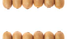Copyspace kiwifruit skład Zdjęcie Stock