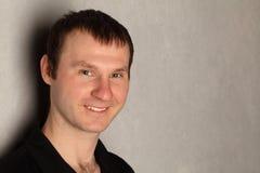 copyspace mężczyzna portreta smilimg obrazy royalty free