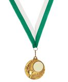 Copyspace metal medal Stock Images