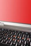 copyspace words jag den röda skärmen för tangentbordbärbar datorbehov dig royaltyfri fotografi