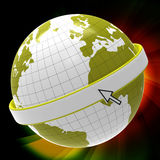 Copyspace World Represents Blank Globalization And Planet Stock Photography