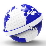 Copyspace World Represents Globalise Globalisation And Planet Royalty Free Stock Image