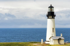 Copyspace Yaquina Head Lighthouse, Newport, Oregon Stock Images