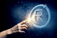 Copywriting symbol Royalty Free Stock Photo