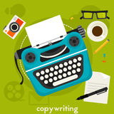 Copywritingsconcept Royalty-vrije Stock Foto