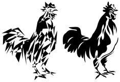 Coq illustration de vecteur